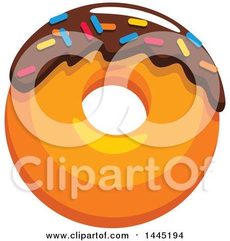 Royalty-Free (RF) Sprinkle Donut Clipart, Illustrations ...