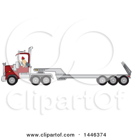 Royalty-Free (RF) Truck Driver Clipart, Illustrations, Vector ...