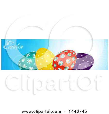 Royalty-Free (RF) Easter Banner Clipart, Illustrations, Vector ...