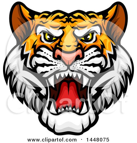 royalty free rf tiger mascot clipart illustrations vector rh clipartof com free tiger mascot clipart free bulldog mascot clipart