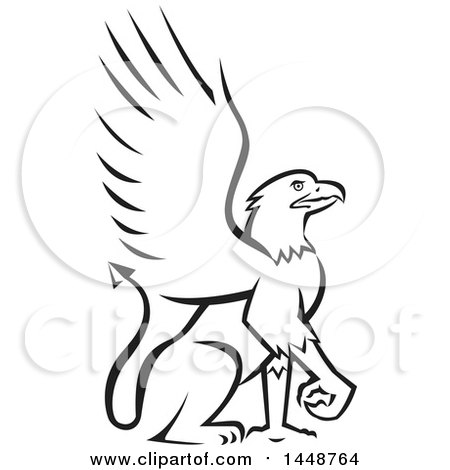 Royalty-Free (RF) Griffin Clipart, Illustrations, Vector Graphics #1