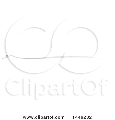 Clipart Graphic of a Gray House Border Design Element - Royalty Free Vector Illustration by Domenico Condello