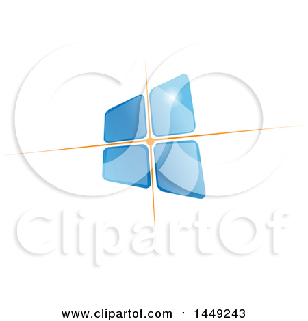 Clipart Graphic of a Solar Energy Photovoltaic Panel - Royalty Free Vector Illustration by Domenico Condello