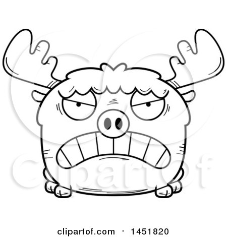Royalty Free Rf Moose Clipart Illustrations Vector Graphics 13