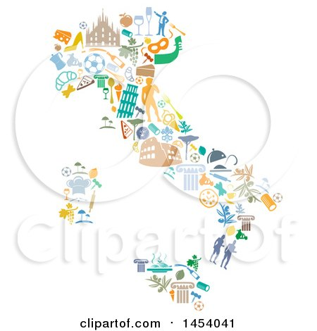Clipart of a - Royalty Free Vector Illustration by Domenico Condello