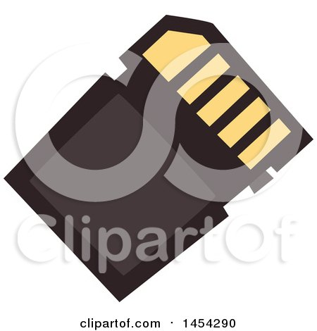 Clipart Graphic of a Flash Card - Royalty Free Vector Illustration by Vector Tradition SM