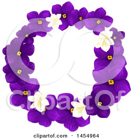 Royalty-Free (RF) Clipart of Violets, Illustrations, Vector ...