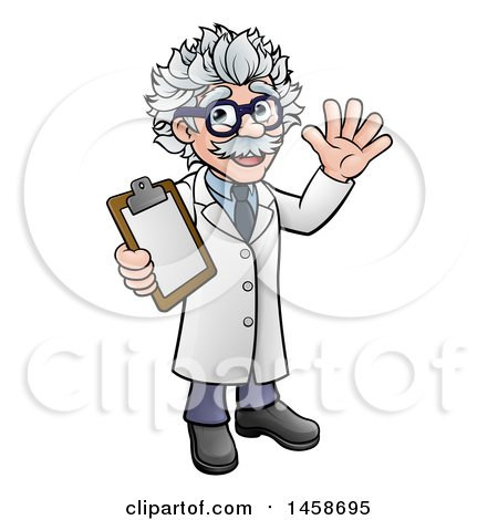 Royalty-Free (RF) Mad Scientist Clipart, Illustrations ...