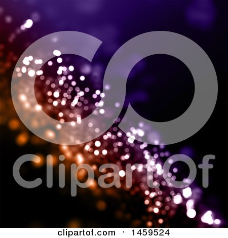 Clipart of a Glittery Background - Royalty Free Illustration by KJ Pargeter