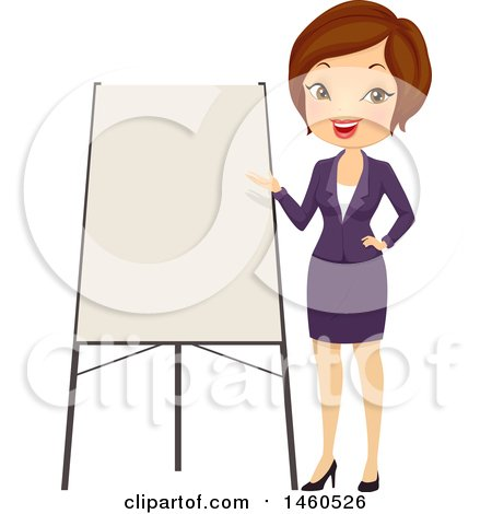 Giving A Presentation Clipart