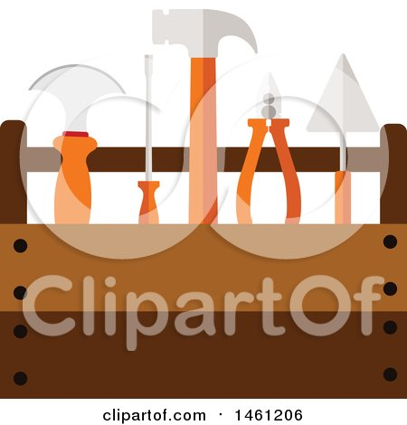 Clipart of a Tool Box - Royalty Free Vector Illustration by Vector Tradition SM