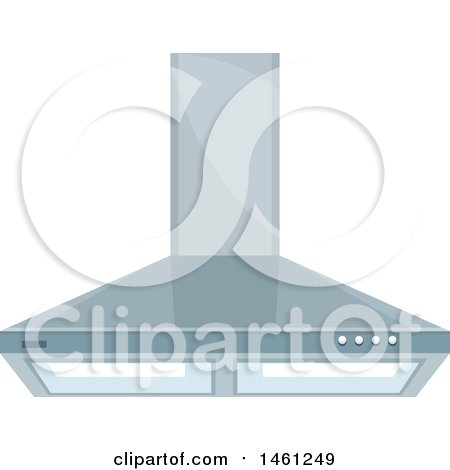 Clipart of a Kitchen Range Hood - Royalty Free Vector Illustration by Vector Tradition SM