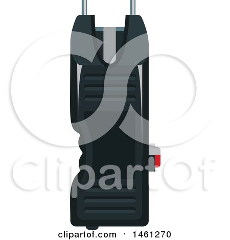 Clipart of a Police Taser - Royalty Free Vector Illustration by Vector Tradition SM