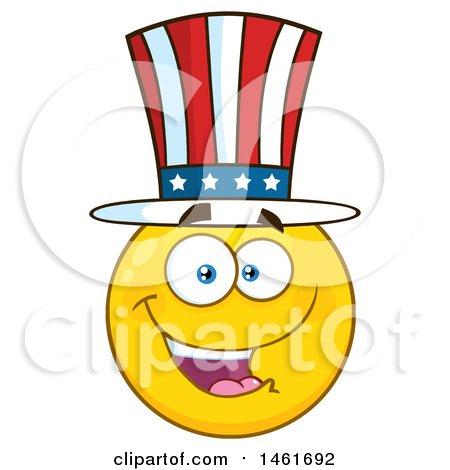 clipart of a cartoon devil emoji smiley face royalty free vector rh clipartof com