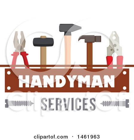 Handyman Services Design Posters, Art Prints