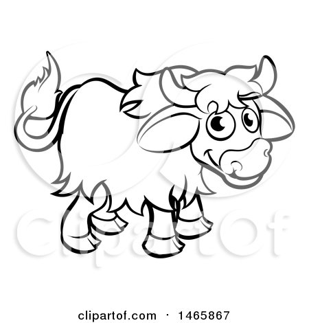 Royalty Free Rf Yak Clipart Illustrations Vector Graphics 1