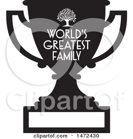 Remarkable Clipart Of A Tree And Worlds Greatest Family Text And Blank Download Free Architecture Designs Scobabritishbridgeorg