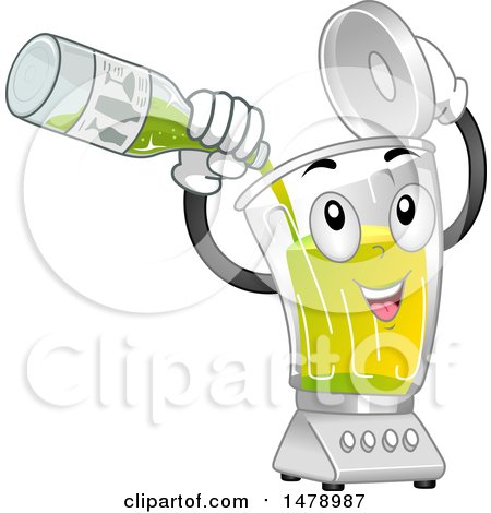 Clipart Black And White Kitchen Food Processor Or Blender