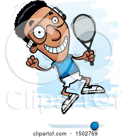 royalty free rf clip art illustration of a cartoon black and white rh clipartof com racquetball racquet clipart