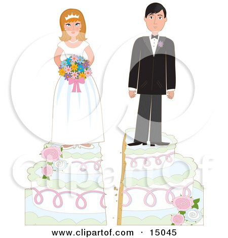 humorous cake toppers wedding