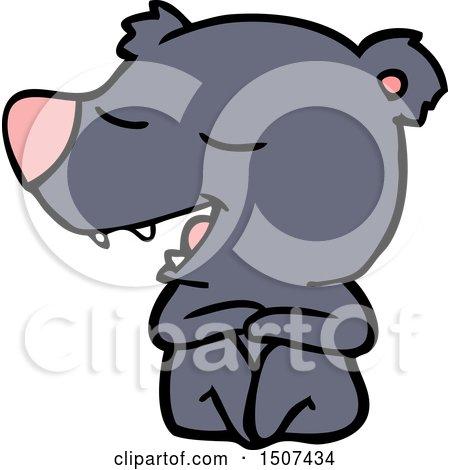 Cartoon Bear by lineartestpilot