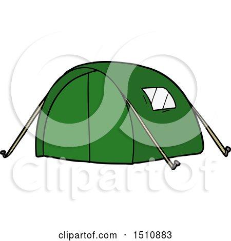 Cartoon Tent by lineartestpilot