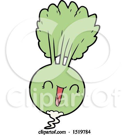 Cartoon Root Vegetable Posters, Art Prints