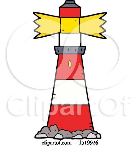 Cartoon Light House by lineartestpilot