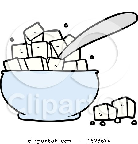 Royalty Free Rf Clipart Of Sugar Cubes Illustrations