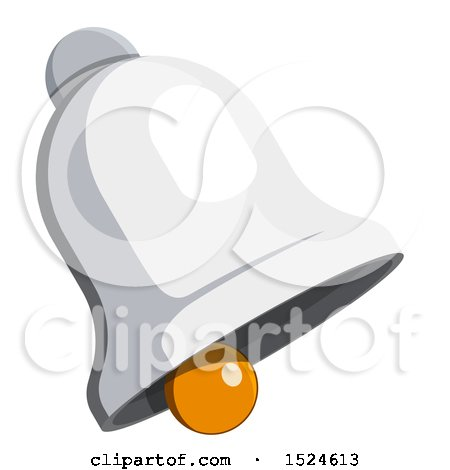 Clipart of a 3d Isometric Bell Icon - Royalty Free Vector Illustration by beboy