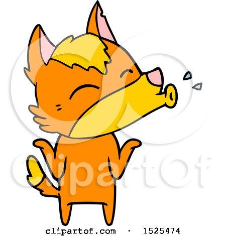 Cartoon Fox by lineartestpilot