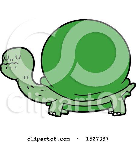 Cartoon Tortoise by lineartestpilot