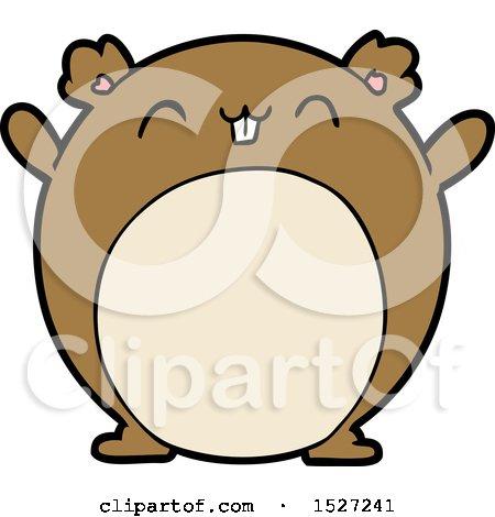 Cartoon Hamster by lineartestpilot