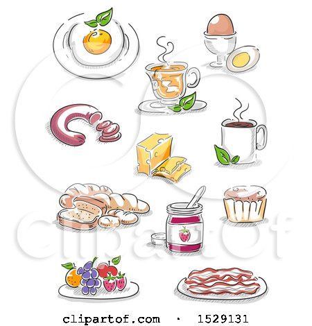 Royalty Free Breakfast Illustrations by BNP Design Studio ...