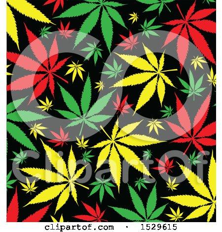 jamaican rasta marijuana pot leaf background posters art prints
