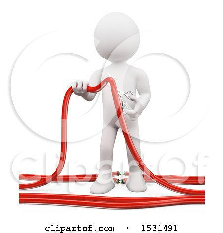 Royalty-Free (RF) Clipart of Cables, Illustrations, Vector Graphics #3