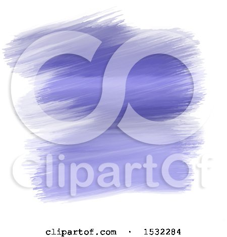 Clipart of a Purple Watercolor Strokes Background - Royalty Free Vector Illustration by KJ Pargeter