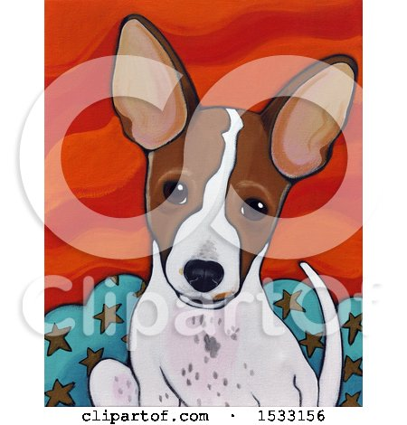 Painting of a Dog Posters, Art Prints