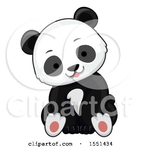 Cute Panda Cub Posters, Art Prints