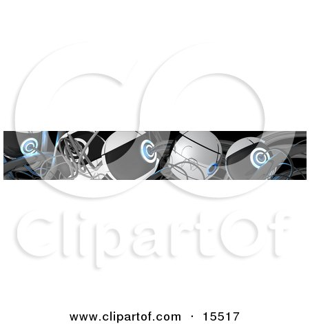 Abstract Background Of Cables Clipart Illustration Image