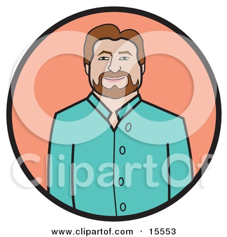 Casual Dress on Men Clothes Clipart