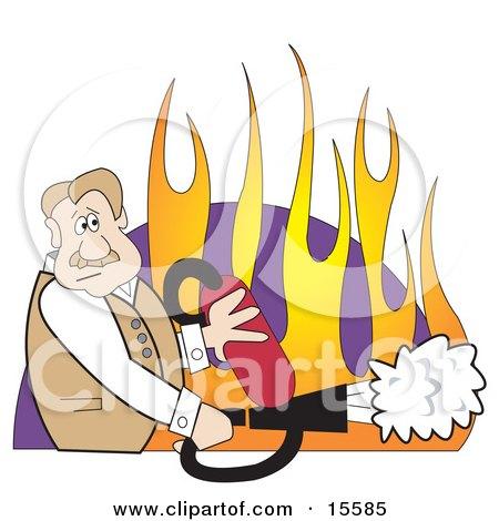 Flag fire extinguisher carbon dioxide msds