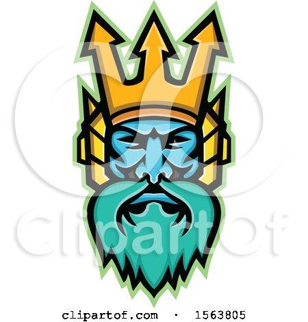 Mascot of Poseidon Posters, Art Prints