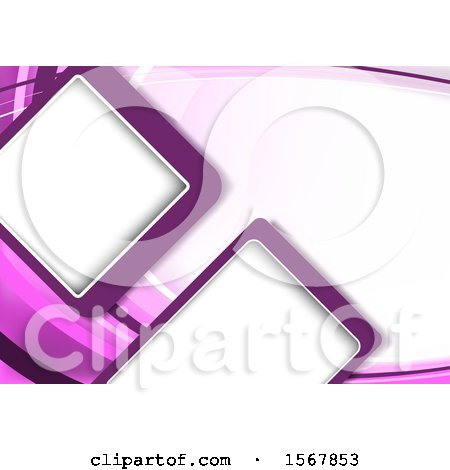 Clipart of a Purple Background - Royalty Free Vector Illustration by dero