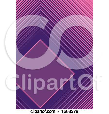 Clipart of a Layout Template Background - Royalty Free Vector Illustration by dero