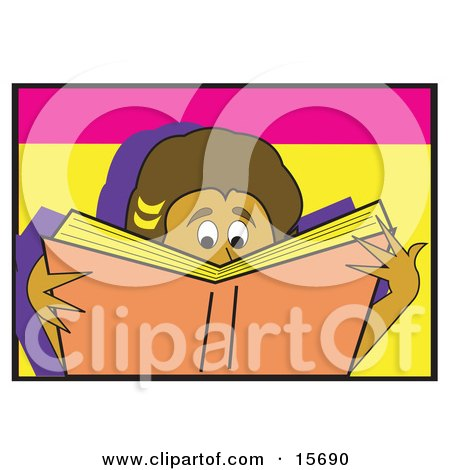 Boy Or Girl Reading A Really Good Book Posters, Art Prints