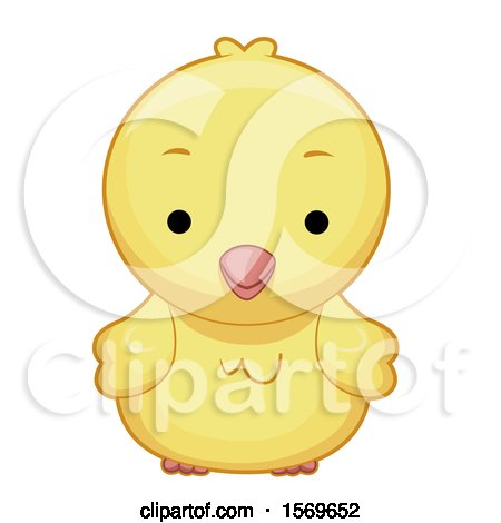 Cute Yellow Chick Posters, Art Prints