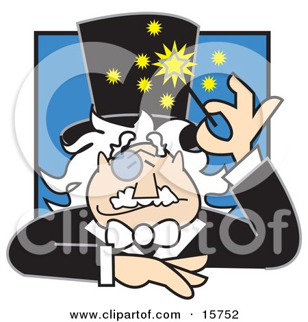 http://images.clipartof.com/small/15752-Friendly-Male-Magician-With-A-Monacle-Over-His-Eye-Using-A-Magic-Wand-Clipart-Illustration.jpg