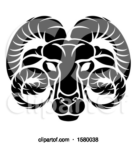 Aries Ram Zodiac Horoscope Astrology Sign by AtStockIllustration