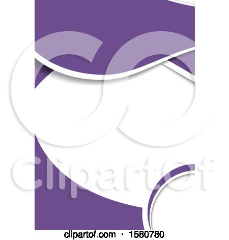 Clipart of a Purple and White Background - Royalty Free Vector Illustration by dero